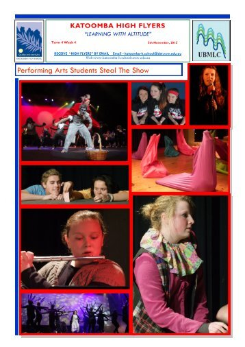13 October 2012 Week 46 [pdf, 4 MB] - Katoomba High School