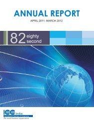 ICC India 82 Annual Report 2012