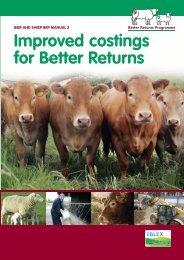 Improved costings for Better Returns - Eblex