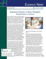 EQ News Jul-Aug 08 Draft - Catholic Health System