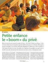 Petite enfance le «boom» du privé - Boulogne - Billancourt