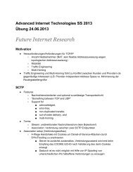 Future Internet Research