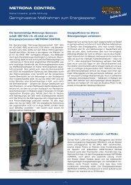METRONA CONTROL Geringinvestive ... - BRUNATA Hürth