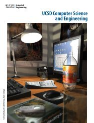 UCSD Computer Science and Engineering - Systems and ...