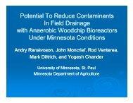 Track C - Water Resources Center - University of Minnesota