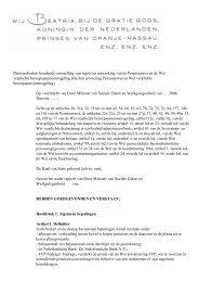 Ontwerpbesluit houdende vaststelling van regels ter uitwerking van ...