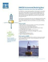 EMM700 Environmental Monitoring Buoy - YSI.com