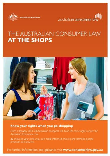 Advertising and Marketing Series: The Australian Consumer Law