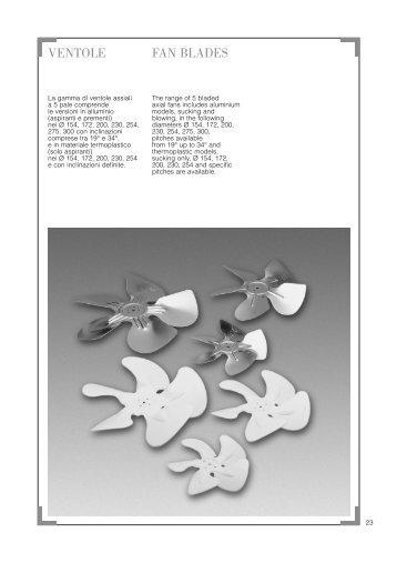 VENTOLE FAN BLADES - Acr-asia.com