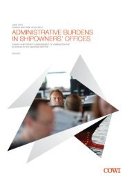 Administrative burdens in shipowners' offices, 2011 - Danish ...