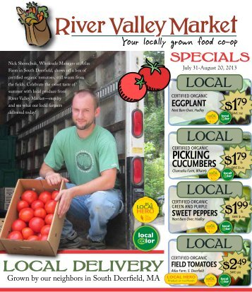 local delivery - River Valley Market