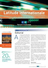 Latitude Internationale n°18 - CIC