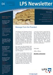 Download April 2012 Newsletter - London Petrophysical Society