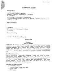Smlouva o dílo - Statutární město Liberec