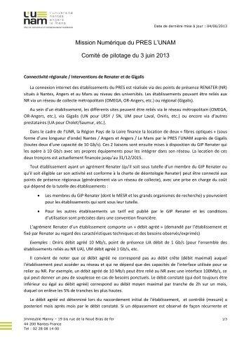 CoPil Mission Numérique - L'UNAM