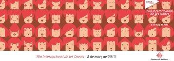 Programa del Dia Internacional de les Dones - Ajuntament de Lleida