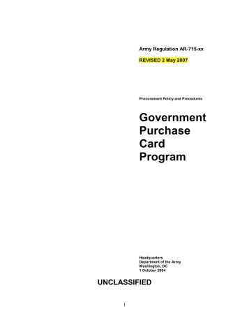 Chapter 1 - Home Page 409th Contracting Support Brigade - U.S. ...
