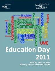 2011 - UCSF School of Medicine - University of California, San ...