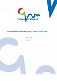 Plan van aanpak transitie jeugdzorg Gooi en Vechtstreek
