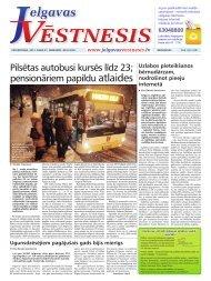 2013.gada 21.februāris Nr.8(295) - Jelgavas Vēstnesis