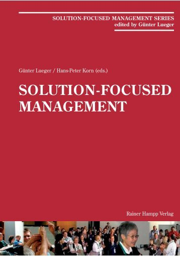 SOLUTION-FOCUSED MANAGEMENT - Coaching-Point