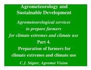 Agrometeorology and Sustainable Development - LEB/ESALQ/USP