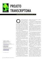 PROJETO TRANSCRIPTOMA - Biotecnologia