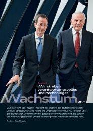 Wir streben verantwortungsvolles und nachhaltiges an.« - Audi ...