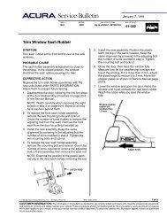 TSB Torn Window Sash Rubber - Dali Racing