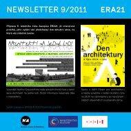 newsletter 9/2011 - Era21