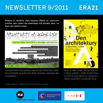 newsletter 9/2011 - Era21