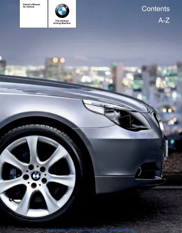Online Edition for Part-Nr. 01 41 0 159 736 - © 08/05 BMW ... - 5Series