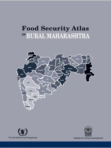 Food Security Atlas Of RURAL MAHARASHTRA - WFP Remote ...