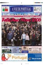 Ano XLV • Nº 50 email: jornal@avozdeportugal.com 28 de ...