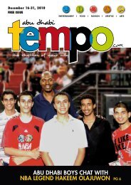 abu dhabi boys chat with nba legend hakeem ... - Tempoplanet