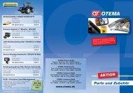 Parts und Zubehör AKTION - OTEMA GmbH