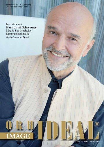 Interview mit Hans Ulrich Schachtner MagSt: Der ... - Orhideal IMAGE