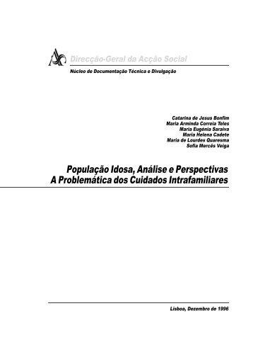 População Idosa, Análise e Perspectivas.p65 - Segurança Social