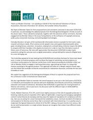 IFLA-EIFL-CLA Statement on Copyright Limitations and - Canadian ...