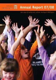 Annual Report 07/08 - Wellington Museums Trust