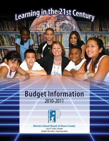 2011 - Pasco County Schools