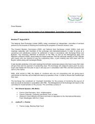 NSEL announces the formation of an Independent Committee of ...