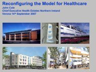 Reconfiguring the Model for Healthcare