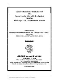 GREAT Nepal Pvt.Ltd - Himalayan Project