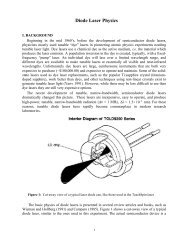 Diode Laser Physics