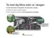 Det här kan du se i Webbappen - Skogsstyrelsen