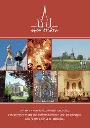 Brochure over de Stichting - Open kerken