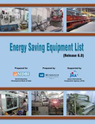 Energy Saving Equipment List - smallB