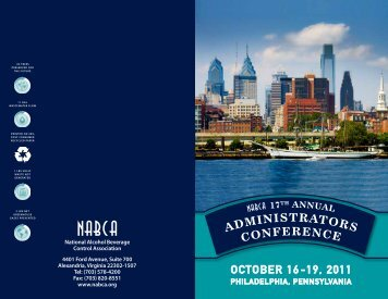 ADMINISTRATORS CONFERENCE - nabca