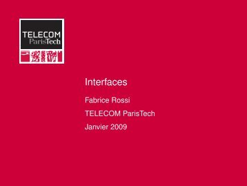 Interfaces - Fabrice Rossi